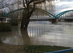 Catastrophe Loyettes 01360 Inondation sur la commune de Loyettes