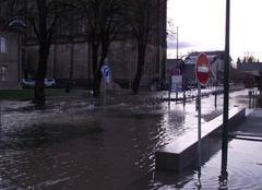 Pluie Doubs 25300 Innondation dans le haut doubs