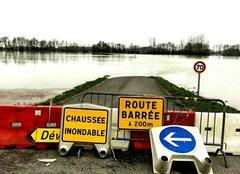 Pluie Cherville 51150 Crue de la Marne