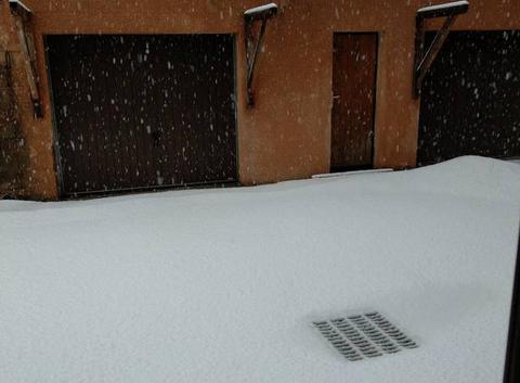 Tombé de neige