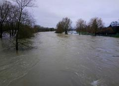 Catastrophe Lerouville 55200 Crue de la Meuse