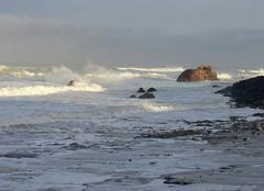 Ciel Biarritz 64200 Mer d'hiver