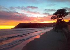 Ciel La Seyne-sur-Mer 83500 Couleurs d'un soir sur le Cap SICIE et les SABLETTES