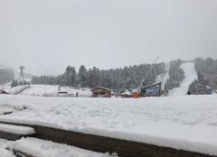 Neige Laveissiere 15300 Front de neige