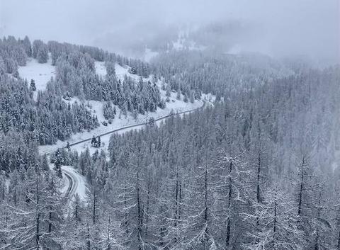 Route de Beuil à Valberg