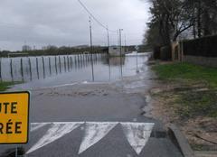 Pluie Varennes-le-Grand 71240 Inondations janvier 2018