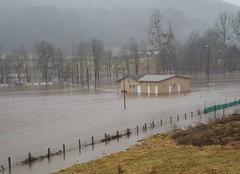 Pluie Saint-Simon 15130 Stades foot et rugby
