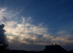 Ciel Niort 79000 Ambiance du soir
