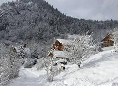 Neige Le Bouchet-Mont-Charvin 74230 L'hiver au Cernix !!!