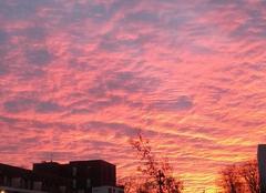 Ciel Nantes 44000 Ciel coloré ce matin .