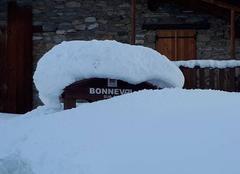 Neige Bonneval-sur-Arc 73480 Balade