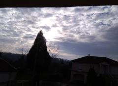Ciel Revigny-sur-Ornain 55800 Dimanche matin légèrement ensoleillé