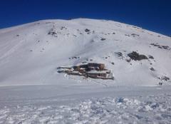 Neige Oukaimden En pleine montagne