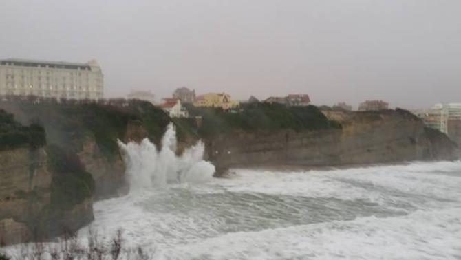 Reporters - Biarritz 64200 - Tempête