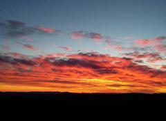 Ciel Saint-Vallier-de-Thiey 06460 Coucher du soleil