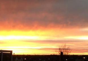 Ciel Caen 14000 Lever de soleil