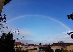 Ciel Saint-Bonnet-Pres-Riom 63200 Arc en ciel