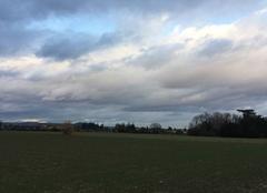 Nuages Romans-sur-Isere 26100 Ciel de neige cette fin d'après-midi