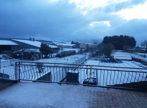 Reveil sous la neige