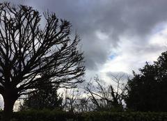 Nuages Mours-Saint-Eusebe 26540 Passages nuageux très denses ce matin