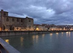 Nuages Romans-sur-Isere 26100 Ciel apocalyptique hier soir au crépuscule