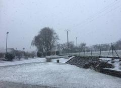 Neige Etaux 74800 Il neige !