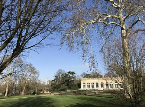 L?Orangerie à Bagatelle, Bois de Boulogne