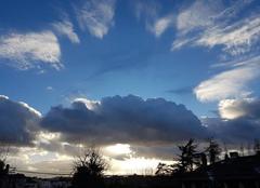 Nuages Tassin-la-Demi-Lune 69160 Ciel de traîne. ..