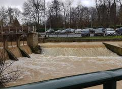 Pluie Coulommiers 77120 Grand morrin au Parc des Capucins