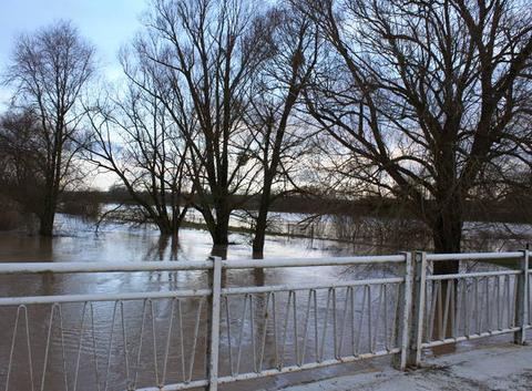 Innondation Hénaménil