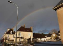 Ciel Aunay-sur-Odon 14260 Arc en ciel