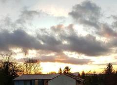 Ciel Sommesous 51320 Magnifique fin de journée ensoleillée