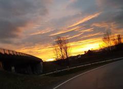Ciel Moirans 38430 Coucher de soleil