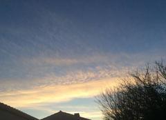 Ciel Longeville-sur-Mer 85560 Ciel de décembre à Longeville sur mer de Mary