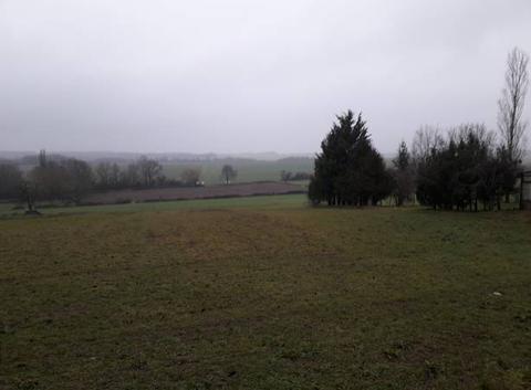 La vall?e de la Tille et de l'Ignon sous la pluie