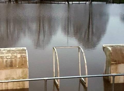 Inondations en sud Bourgogne