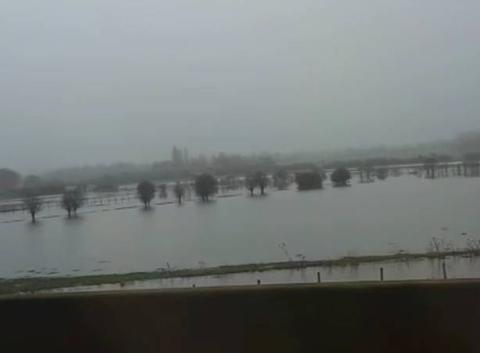 Inondation dans l'orne 61