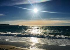 Ciel La Londe-les-Maures 83250 Sur la plage abandonnée