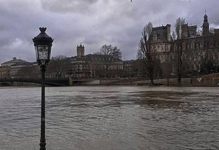 Pluie Paris 75000 Crue de la Seine
