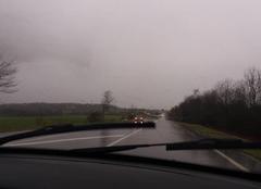 Pluie Berg 67320 Fortes pluies.