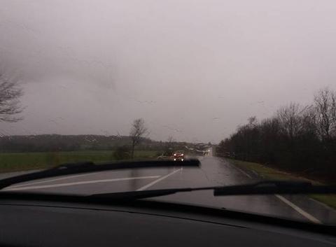 Fortes pluies.