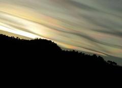Ciel Luceram 06440 Hier vers  fin de journée