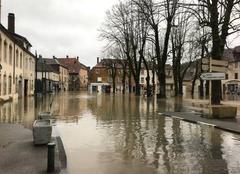 Insolite Ornans 25290 Inondation