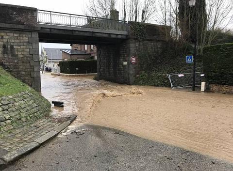 Inondation inattendue