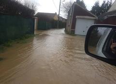 Pluie Mouroux 77120 Inondations