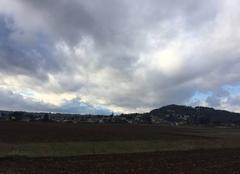 Ciel Mours-Saint-Eusebe 26540 Régime d'averses cette après-midi