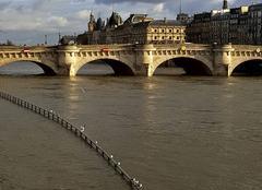 Pluie Paris 75000 La crue de la Seine