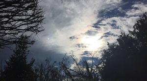 Ciel Mours-Saint-Eusebe 26540 Courte éclaircie entre 2 averses en début d'après-midi