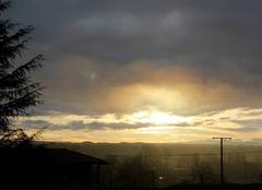 Ciel Saint-Lezer 65500 Ciel de ce Mardi 23 Janvier 2018 à 08h 58 à St Lézer.
