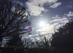 Ciel Mours-Saint-Eusebe 26540 Beau soleil de retour en Drôme ette après-midi
